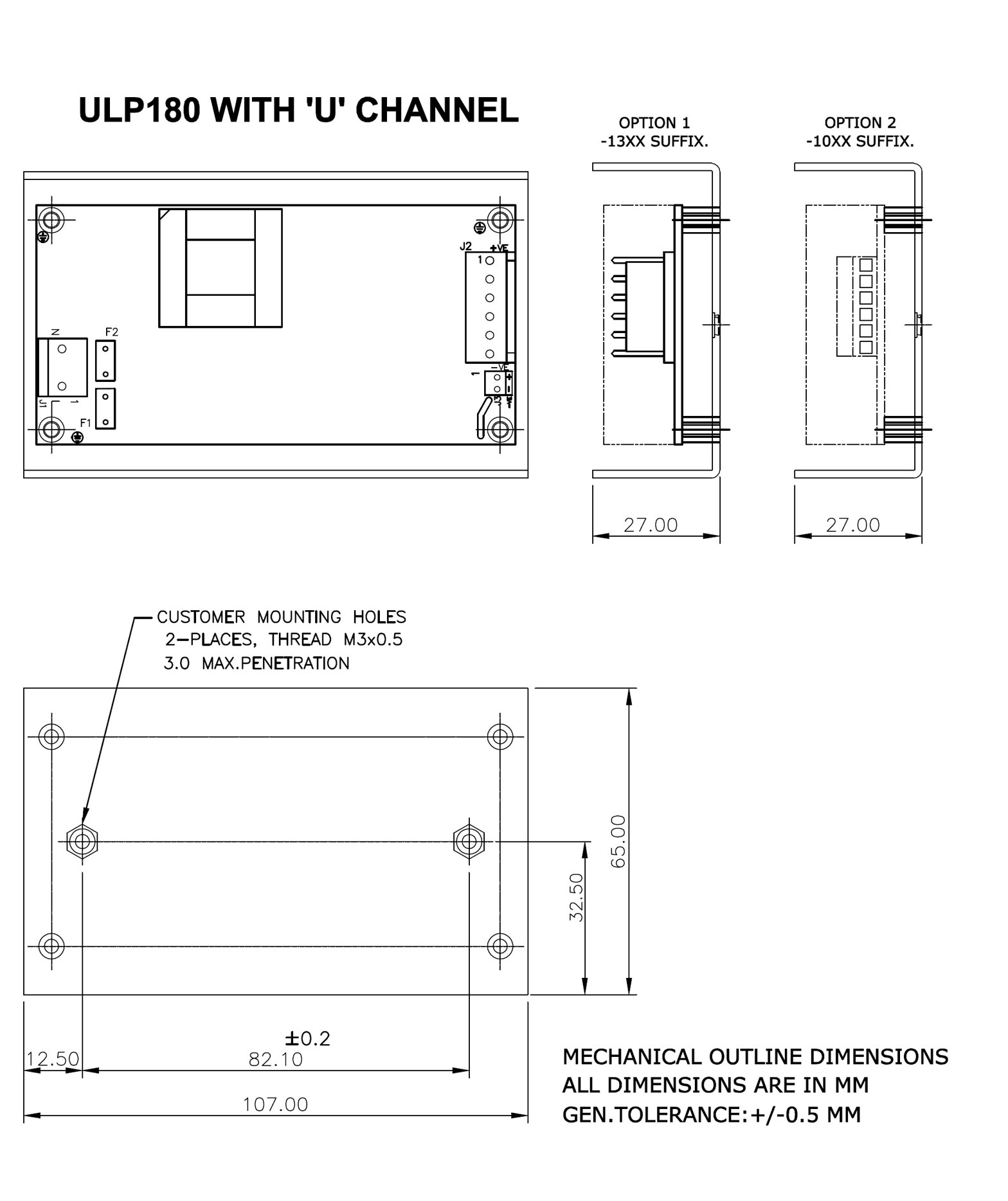 ULP180-U CHANNEL