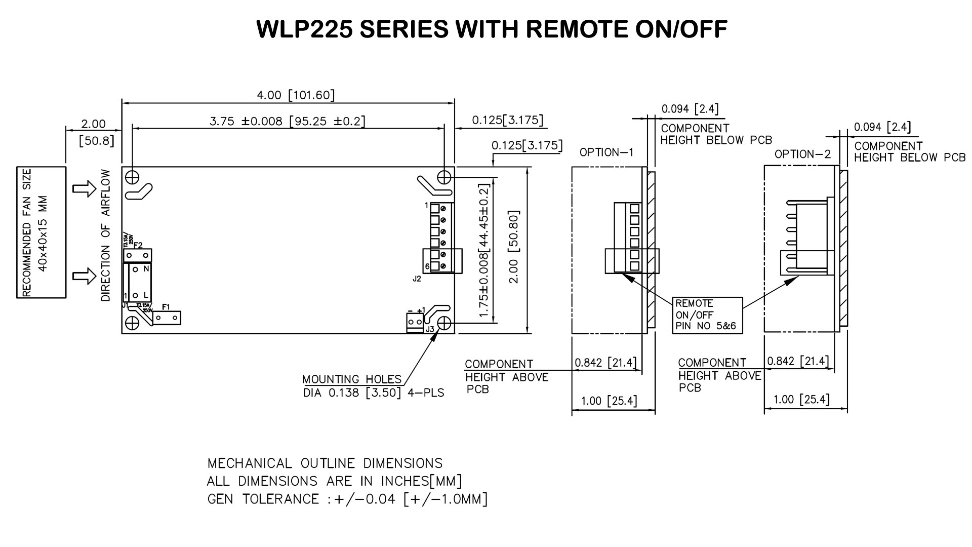 WLP225_REMOTE ON/OFF