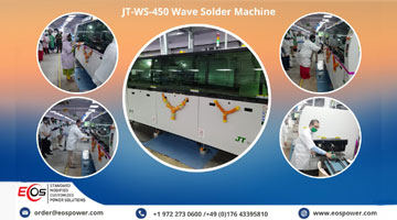 Eos power new JT-WS-450 Wave Solder Machine