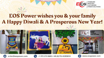 Eos power celebrating Diwali festival