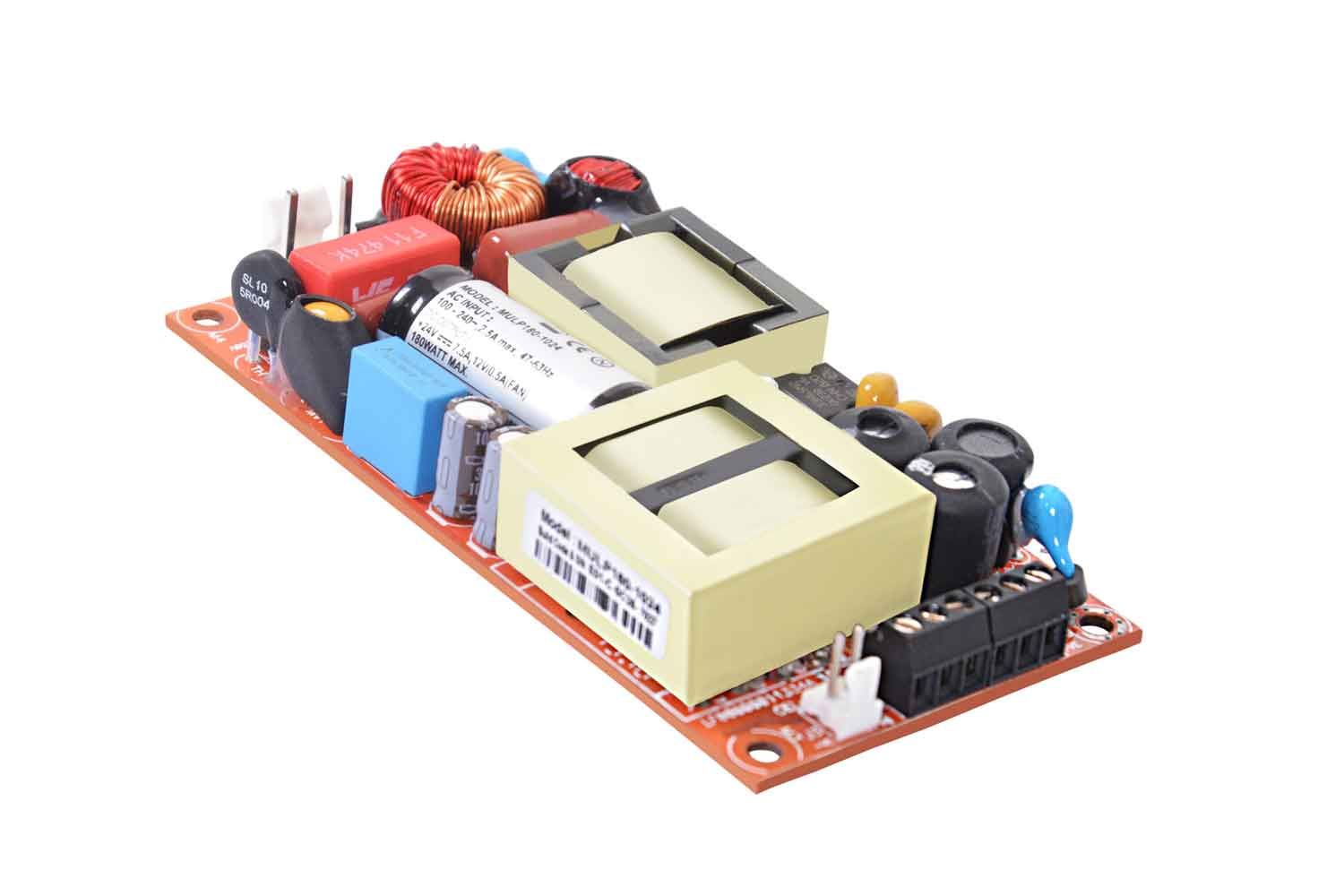 MULP 180 - Power Supply with Efficiency upto 92%